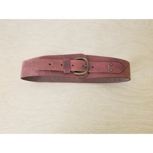 Anthropologie Leather Belt - S